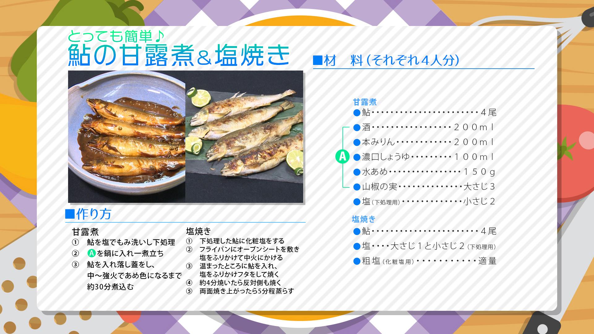 """""""6月3週目レシピ"""""""