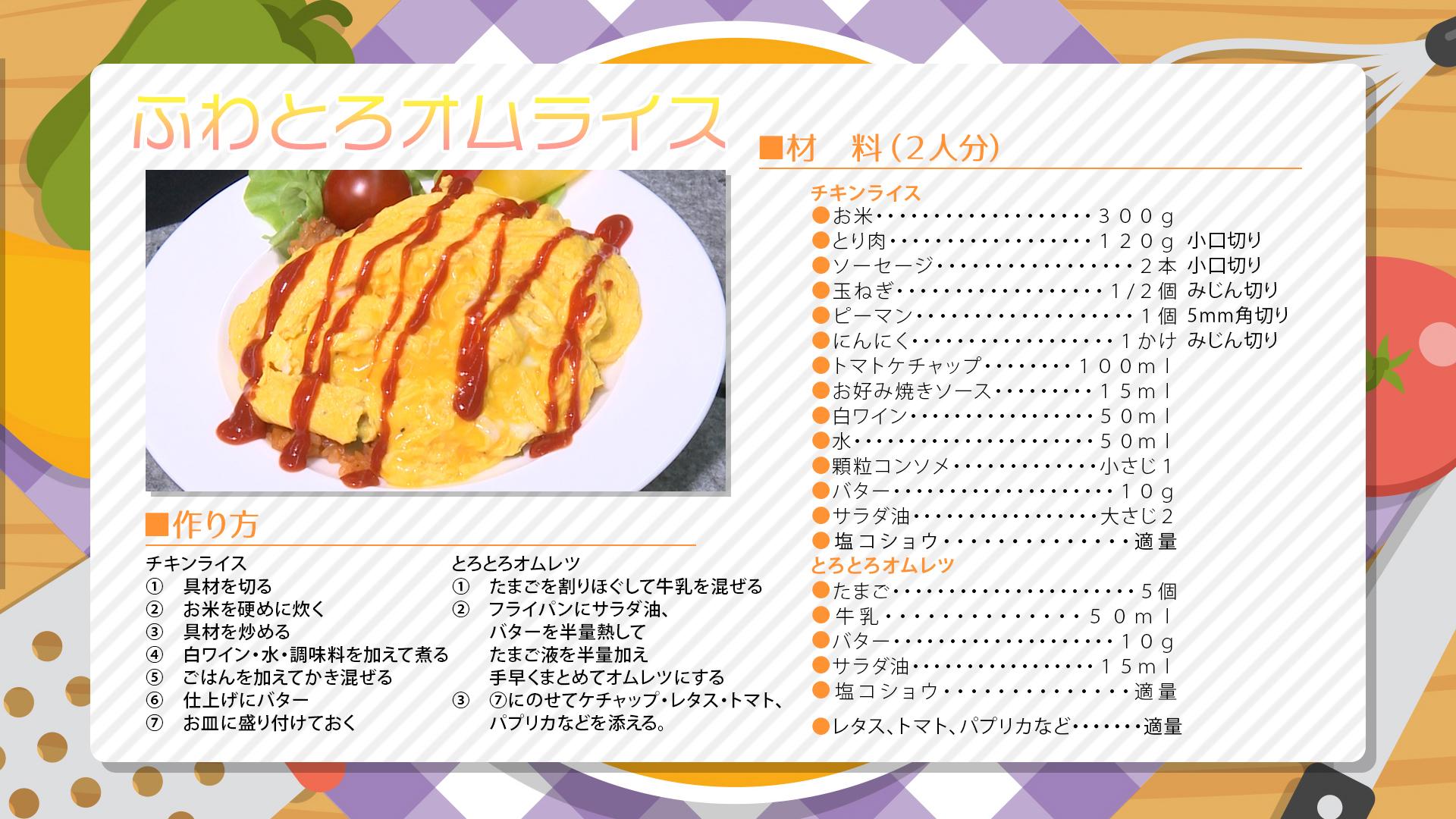 """""""6月1週目レシピ"""""""