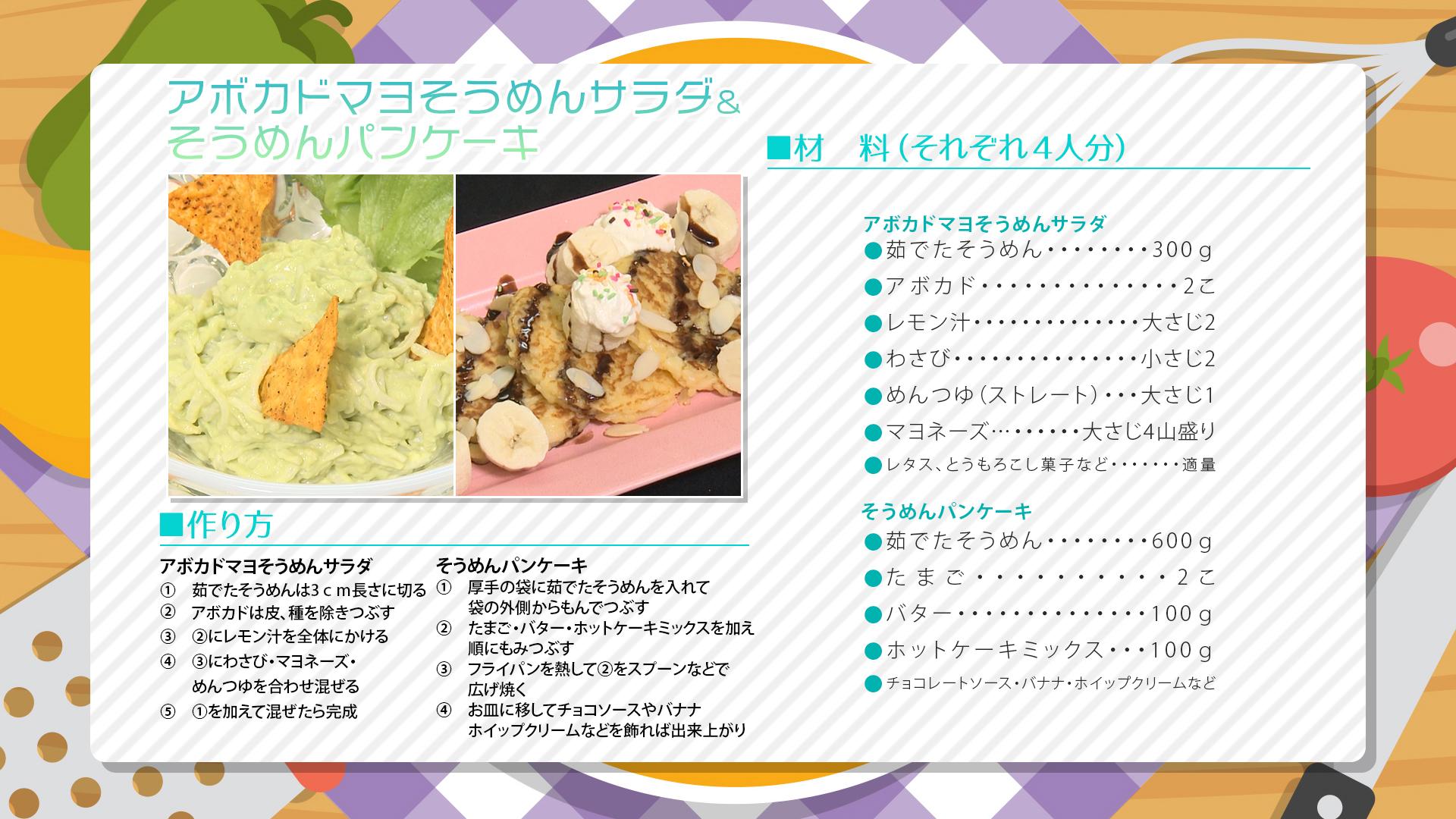 """""""7月1週目レシピ"""""""